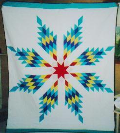 Baby Star Quilt made by Tracy Shields | Lakota Art & Culture ... : lakota star quilts - Adamdwight.com