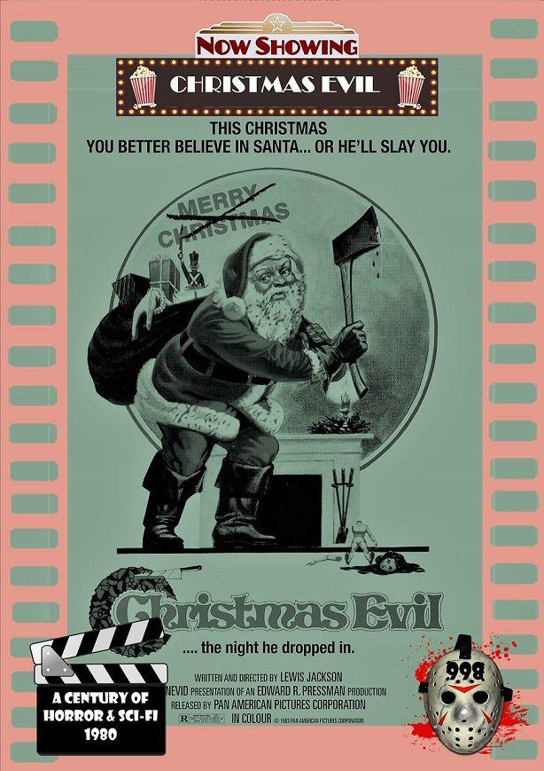 Christmas Evil 1980.Christmas Evil 1980 A Century Of Horror Sci Fi Card