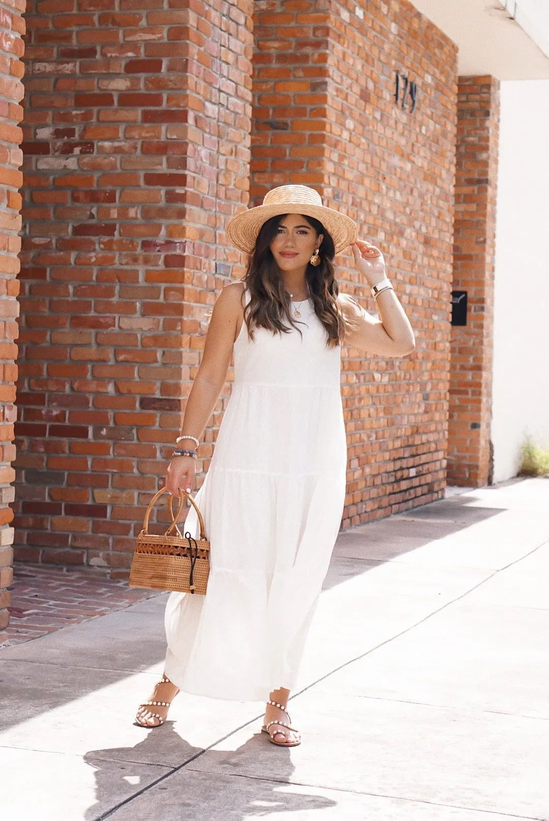 15 White Dresses Under 50 Sugar Love Chic White Maxi Dress Outfit Summer Dress Outfits Target Maxi Dresses [ 1616 x 1080 Pixel ]