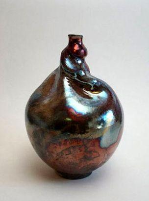 Twisted Vessel by Lorrie Burlingham