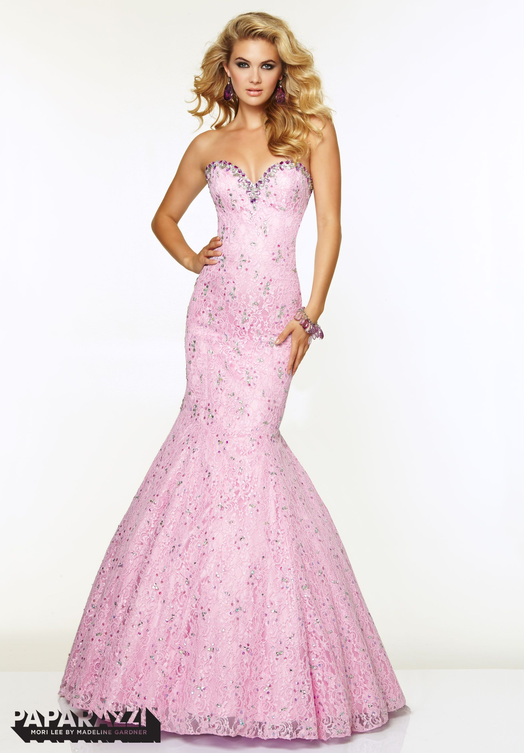 Prom Dresses / Gowns Style 97082: Lace with Jeweled Beading http ...