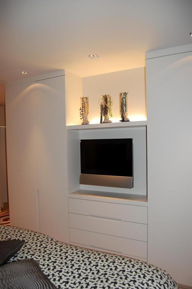 Lievens Interiors : tv toestel in slaapkamer verwerkt | deck ...