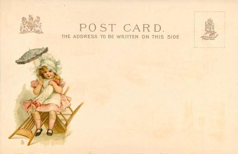 Английская почтовая открытка
