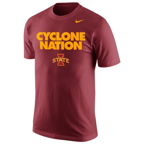 Nike Iowa State Cyclone Nation T Shirt With Images College