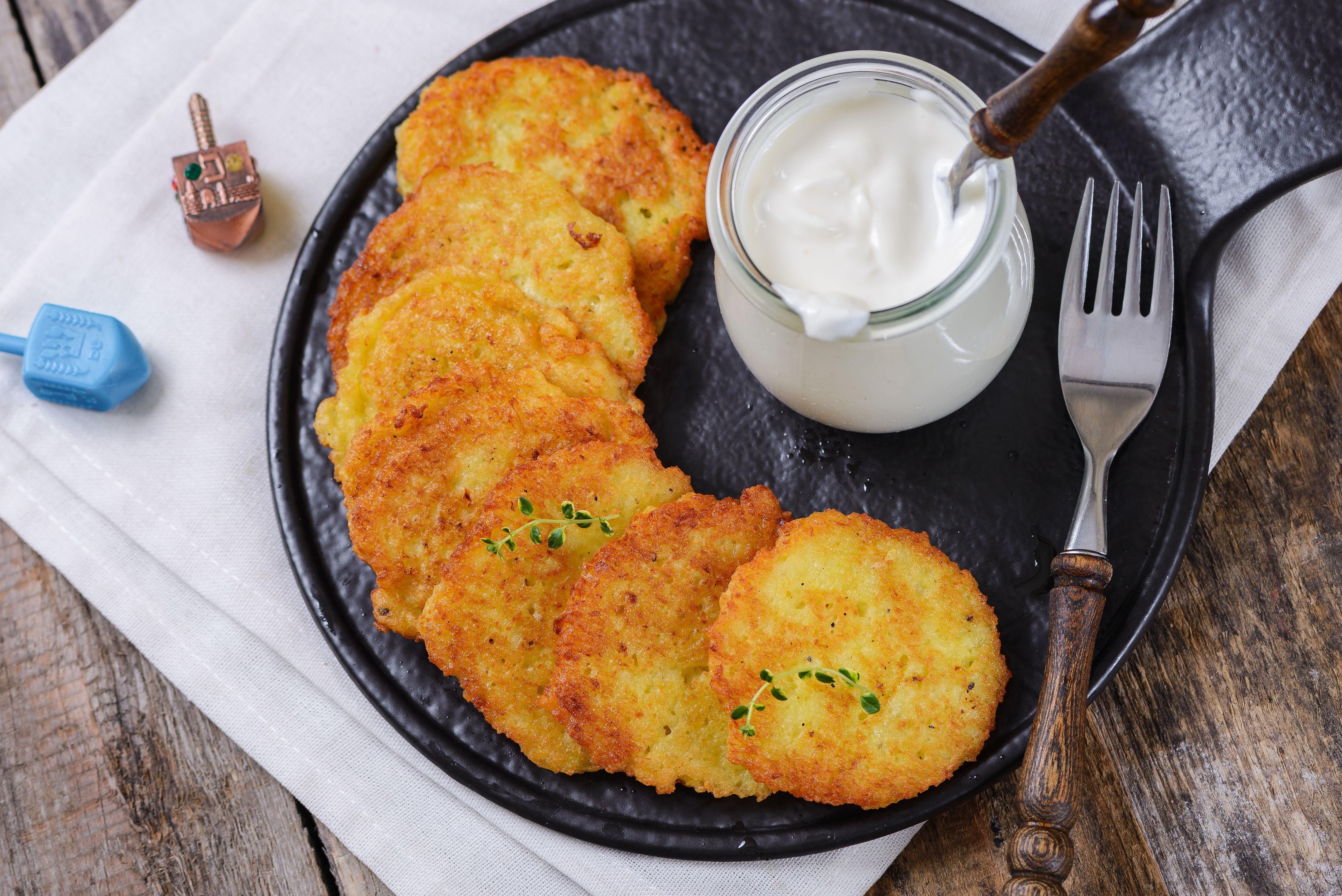 Traditional Hanukkah Potato Latkes Recipe Potato
