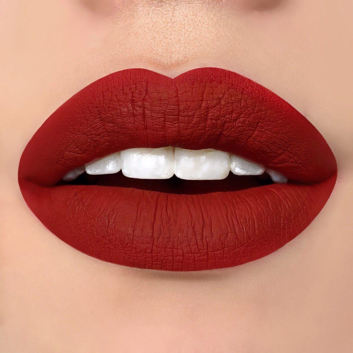 Super Matte Liquid Lipstick HEARTBREAKER (With images)   True red FT-28