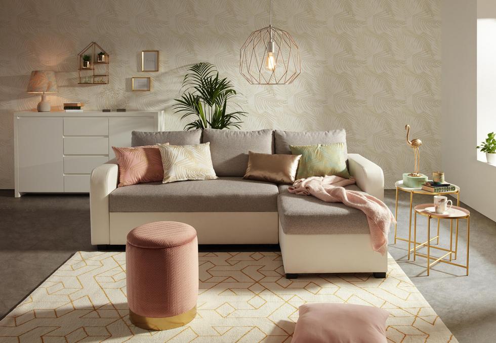Arany színű nyár mömax   Rosa wohnzimmer, Innenarchitektur ...