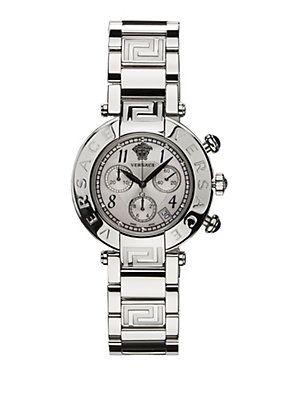 Greca Embossed Metallic watch