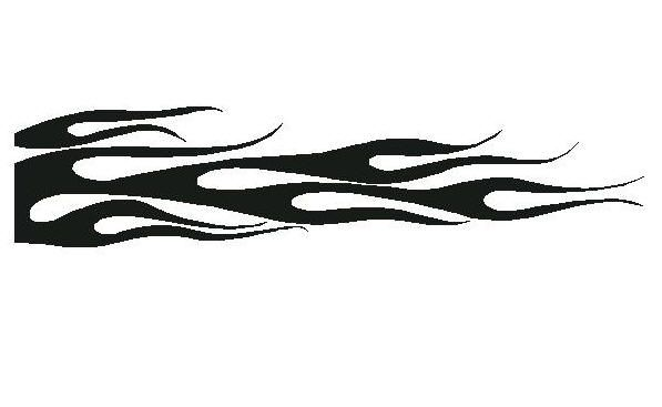 flame stencil for red dress flame tattoos pinewood derby leather pattern boy scouts