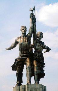 l ouvrier et la kolkhozienne histoire des arts 3eme