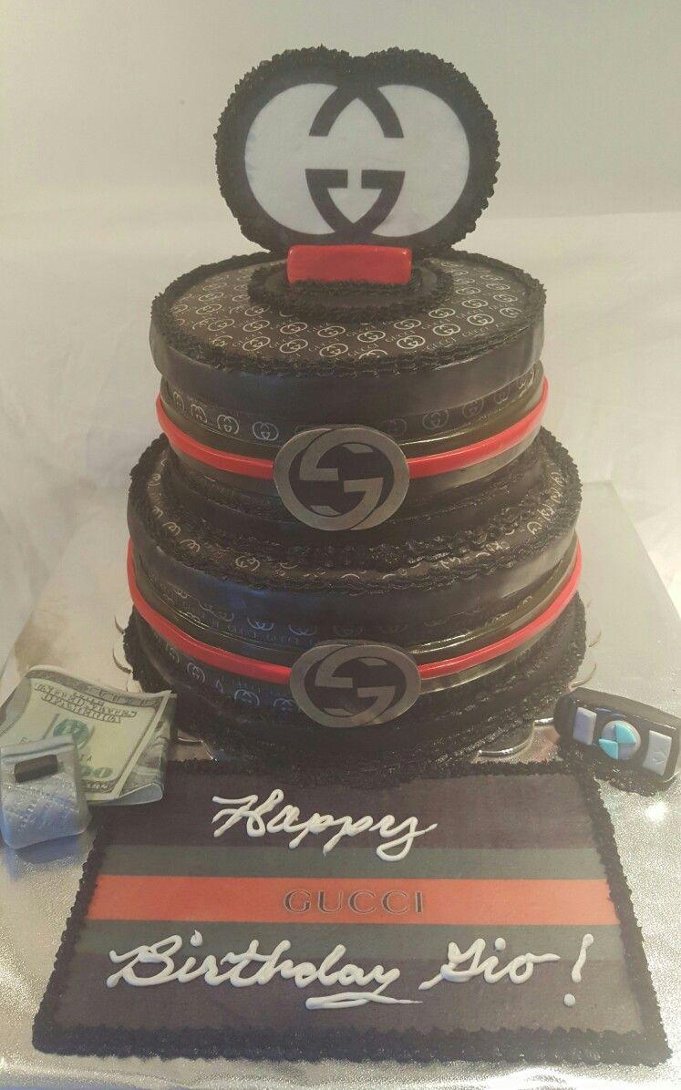 Gucci Cake My Cake Making In 2019 Gucci Cake 21st