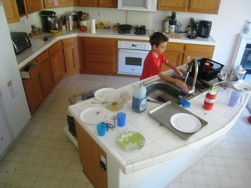 Kitchen Chores for Kids | Parents, Parenting 101 and Babies