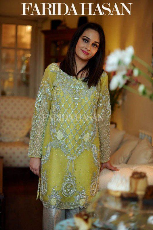 Lemon Color Ladies Fancy Dresses  991f09b8e