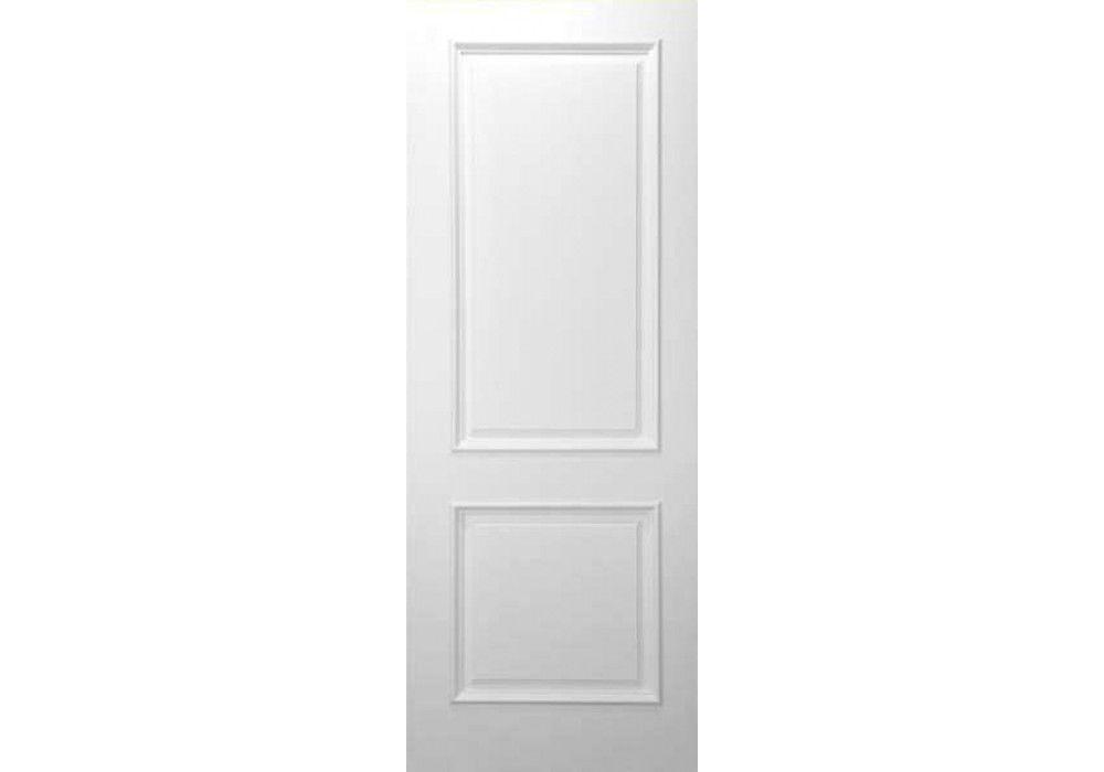 Mil panel square top white primed interior door also rh pinterest
