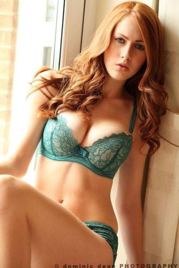 redhead model hot topl