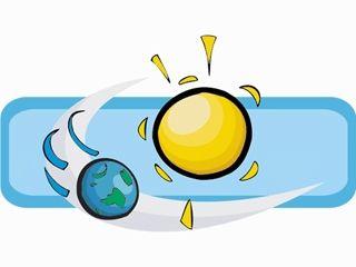 Earth Revolving around Sun Clip Art