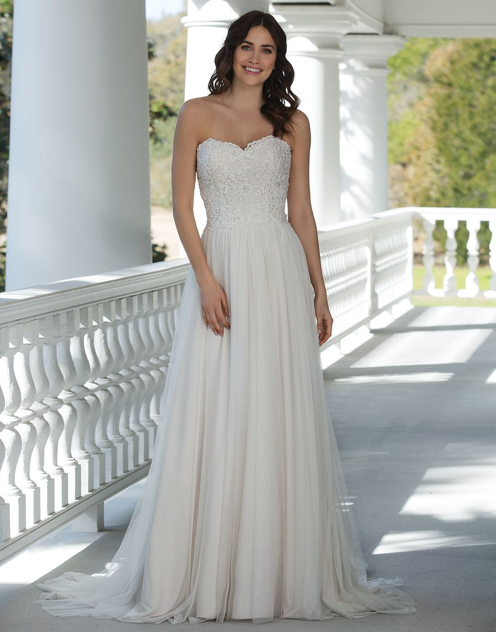 Sincerity wedding dress style beaded cotton embroidered lace a