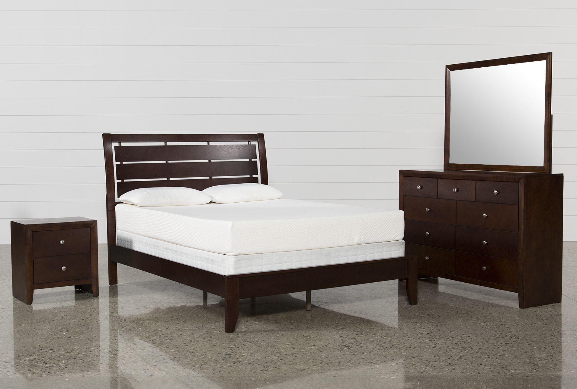 Chad Queen 4 Piece Bedroom Set - Signature- $595