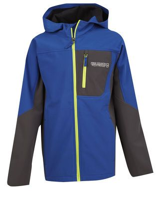 30a53803c Boys' Traverse Softshell Jacket in Parish blue from Free Country Softshell,  Stay Warm,