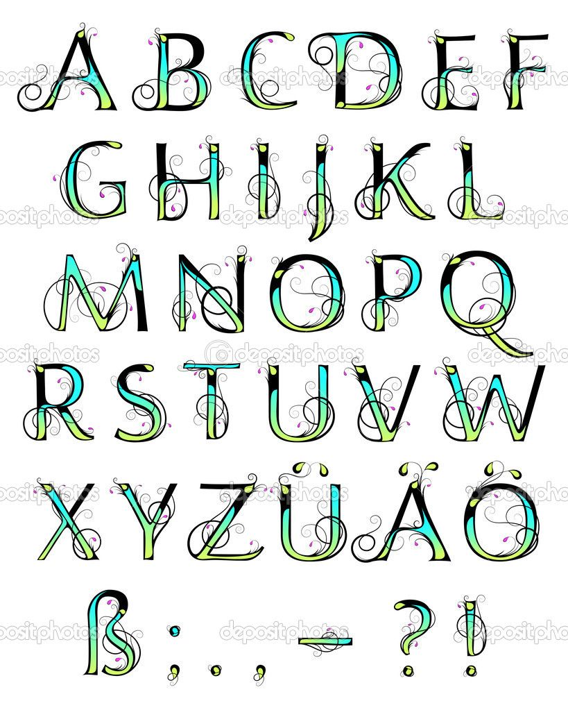 Colorful Lettering | Lettering alphabet, Creative ...  Creative Lettering Styles