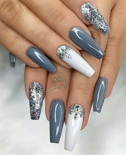 50 Fabulous Coffin Nail Designs For Women – Page 13 of 50