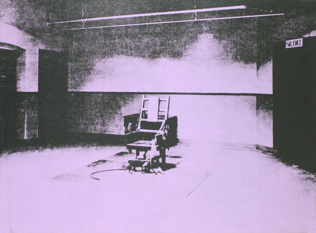 Andy Warhol, Little Electric Chair, 1964 - 1965