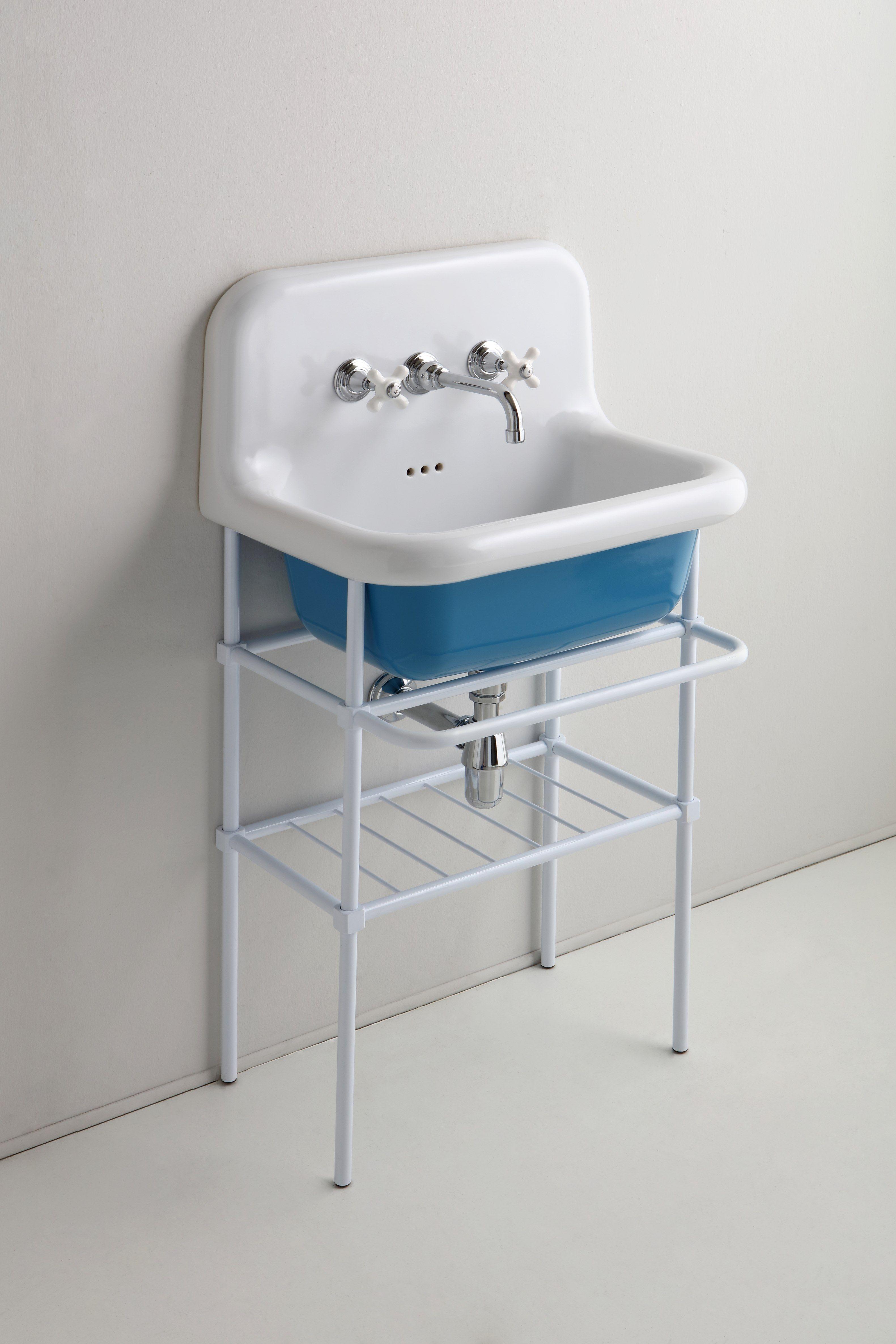 TRUECOLORS | Console washbasin TrueColors Collection By BLEU PROVENCE