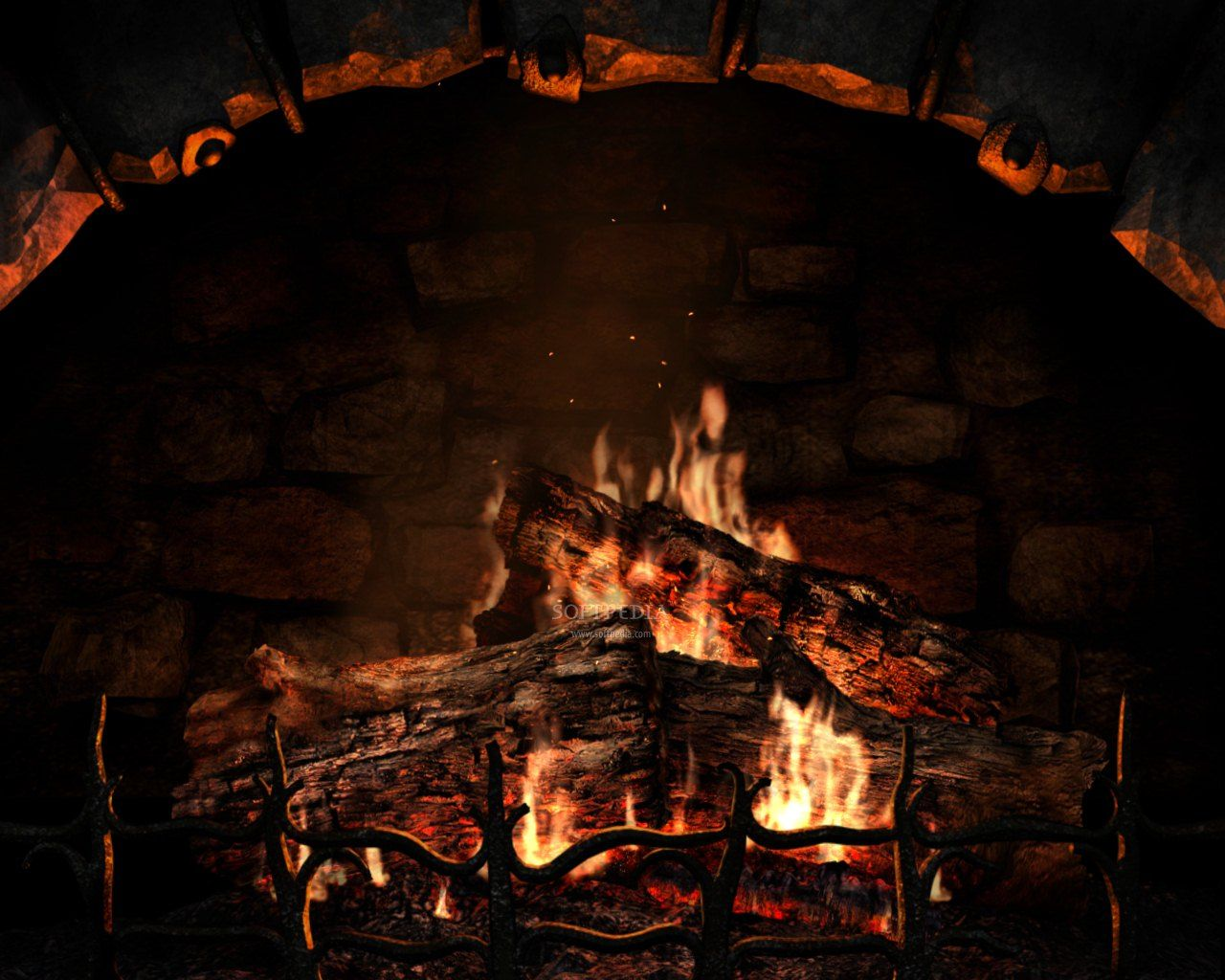 cozy fireplace wallpaperfireplace screensaver ave designs jtegbvu