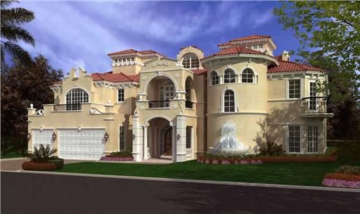 Fine Luxury House Front Plans Elevation Of These Home For Decorating