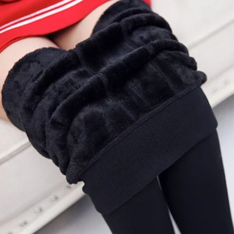 918072267f6c2 Woman Winter Bamboo Carbon Fiber Double Thermal Pantyhose Warm Tights Pants