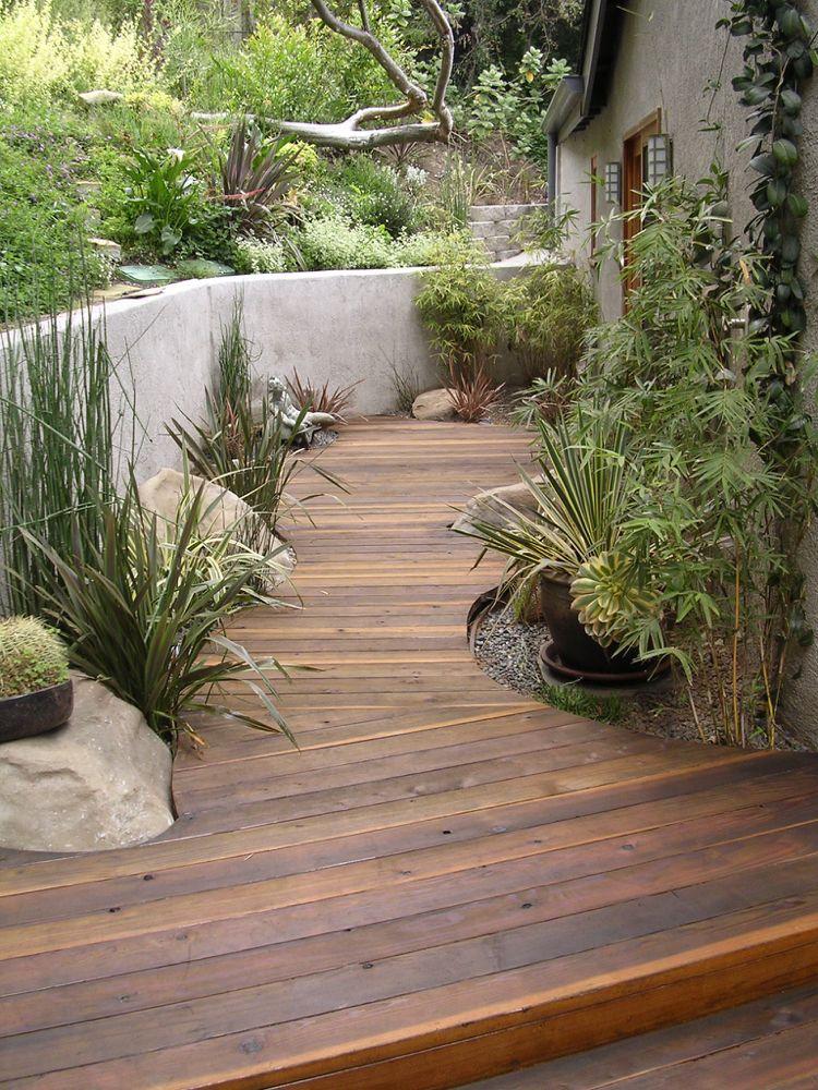 Welches Holz Fur Terrasse Eiche Tipps Garten Gehweg Steingarten