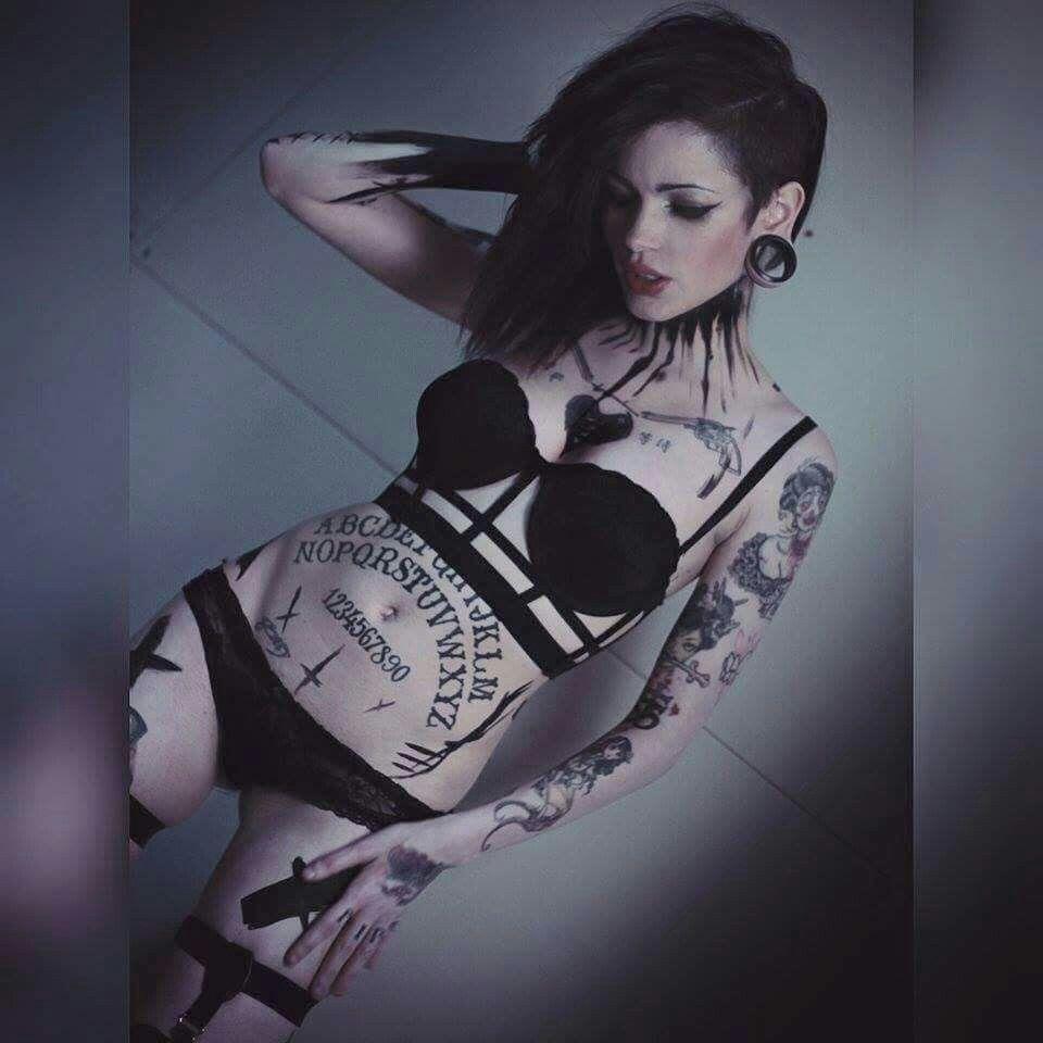 Ouija Board Tattoo