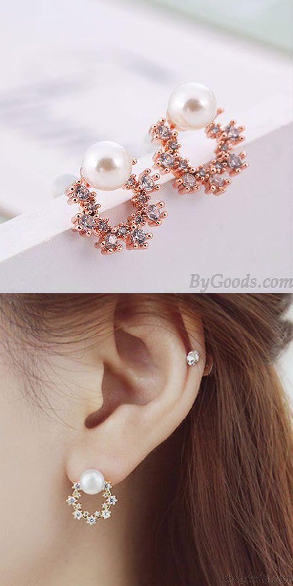 Cute Earrings Gold Earrings Simple Earrings Flower Earrings Small Earrings Stud Earrings. Earrings