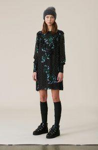 20830709 Ganni - Rometty Georgette dress | Dresses and more | Ganni dress ...