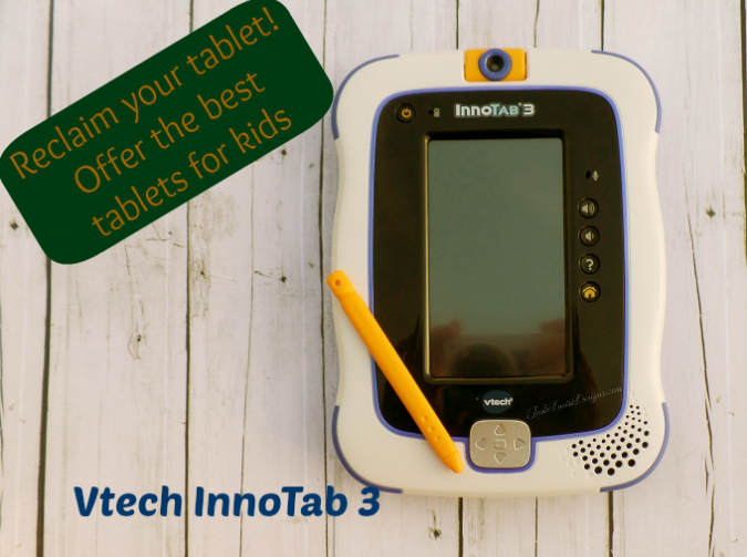 Reclaim Your Tablet by offering Tablets for Kids-new Vtech Innotab 3 Learning App Tablet! #ad