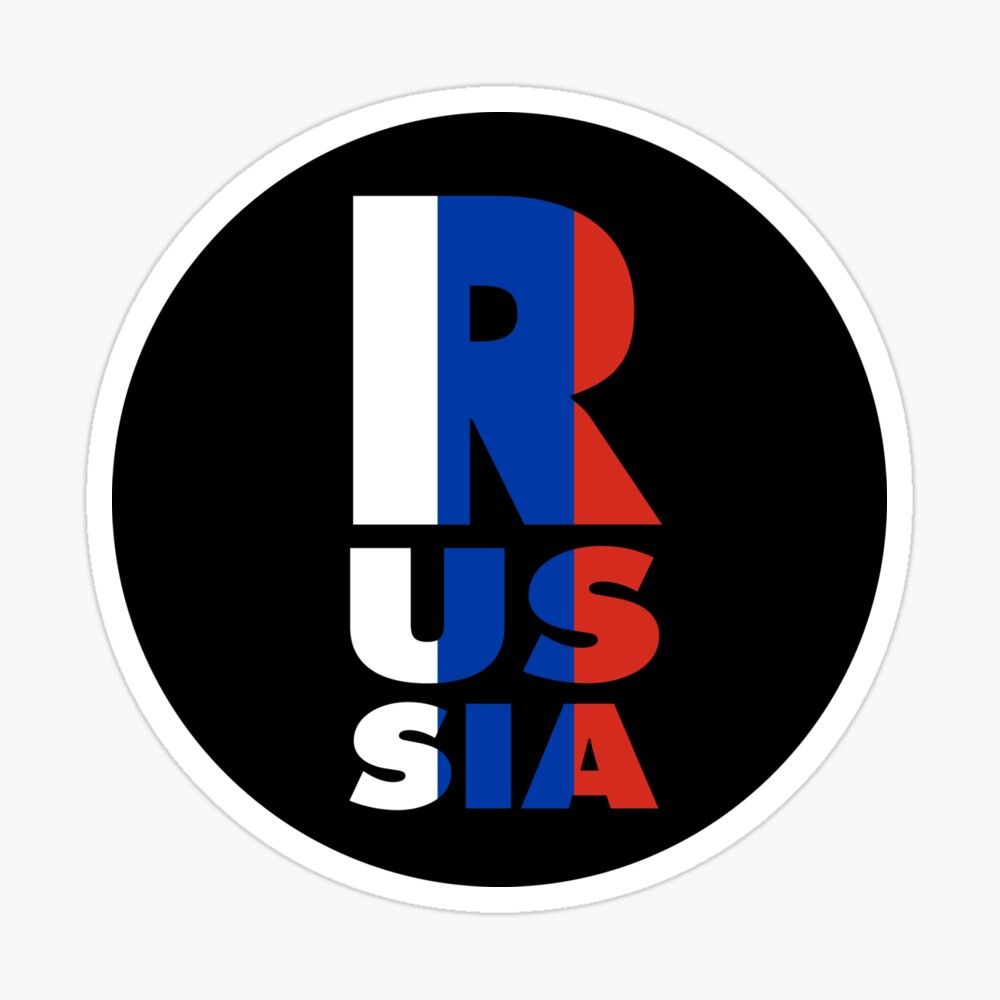 Get My Art Printed On Awesome Products Support Me At Redbubble Rbandme Https Www Redbubble Com Shop P 45888476 In 2020 Flag Colors Russian Flag Coloring Stickers