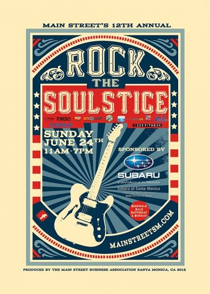 Rock the Soulstice - June 24 - I really want to see the Funky Hippeez!!