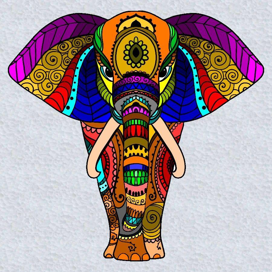 Https S Media Cache Ak0 Pinimg Com Originals 6d F5 83 6df5832dfd0eec3cfbf9c4f0163136a3 Jpg Elefantes Pintados Mandala Art Pinturas De Elefantes