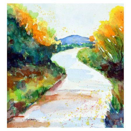 Mountain Trail Wall Art - Laura Trevey on Wayfair