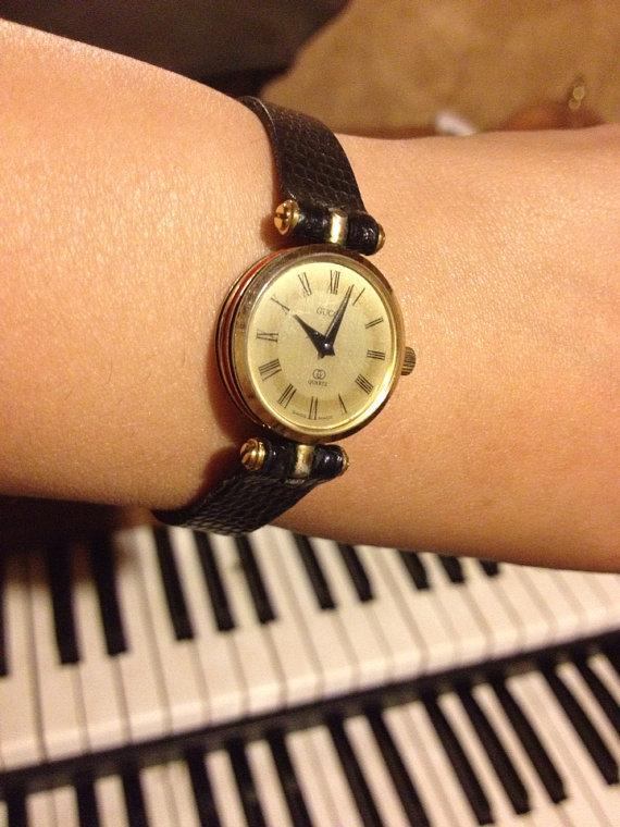 1ddcd45ec Vintage GUCCI Women's watch by VintageVintageMe on Etsy, $145.00 ...