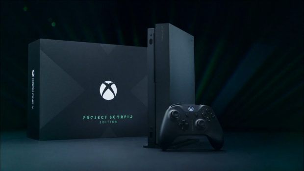 ede7d40586d8 Introducing xbox one x project scorpio edition photos.