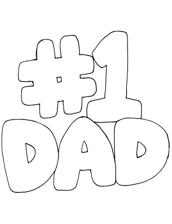 I Love Dad Coloring Pages loveyoumomanddadcoloring
