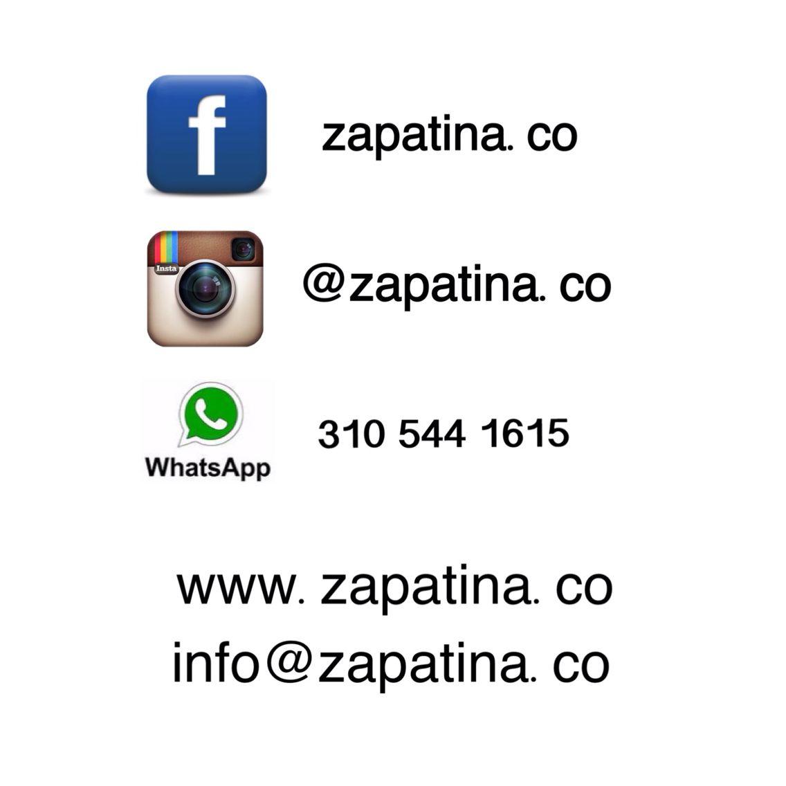 Zapatina - Domicilio gratis en Medellín - Envíos a todo el país. #Contacto #Zapatina #Zapatos