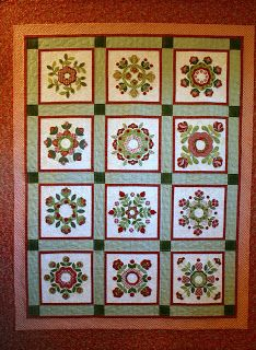 Hello Everyone, This quilt is called Christmas Windows by Brandywine Designs .This is my favorite Christmas quilt that I made several ye...