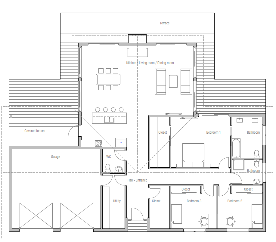 house design house-plan-ch435 10 | Adonis | Pinterest | House on chart house, icon house, label house,