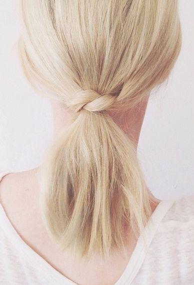 Peinados de coletas con pelo corto