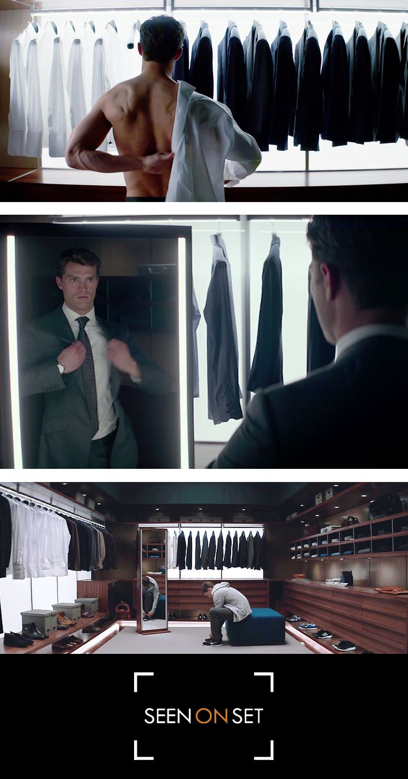 Christian Grey S Wardrobe In Fifty Shades Of Grey Movie