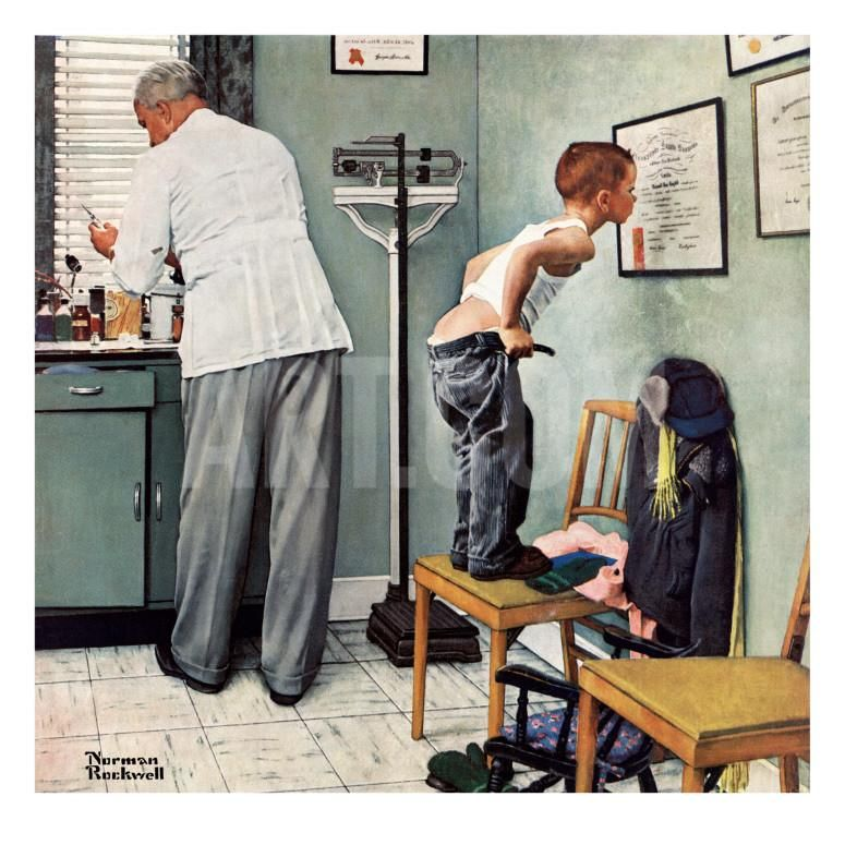 """""""Before the Shot"""" or """"At the Doctor's"""", March 15,1958"""