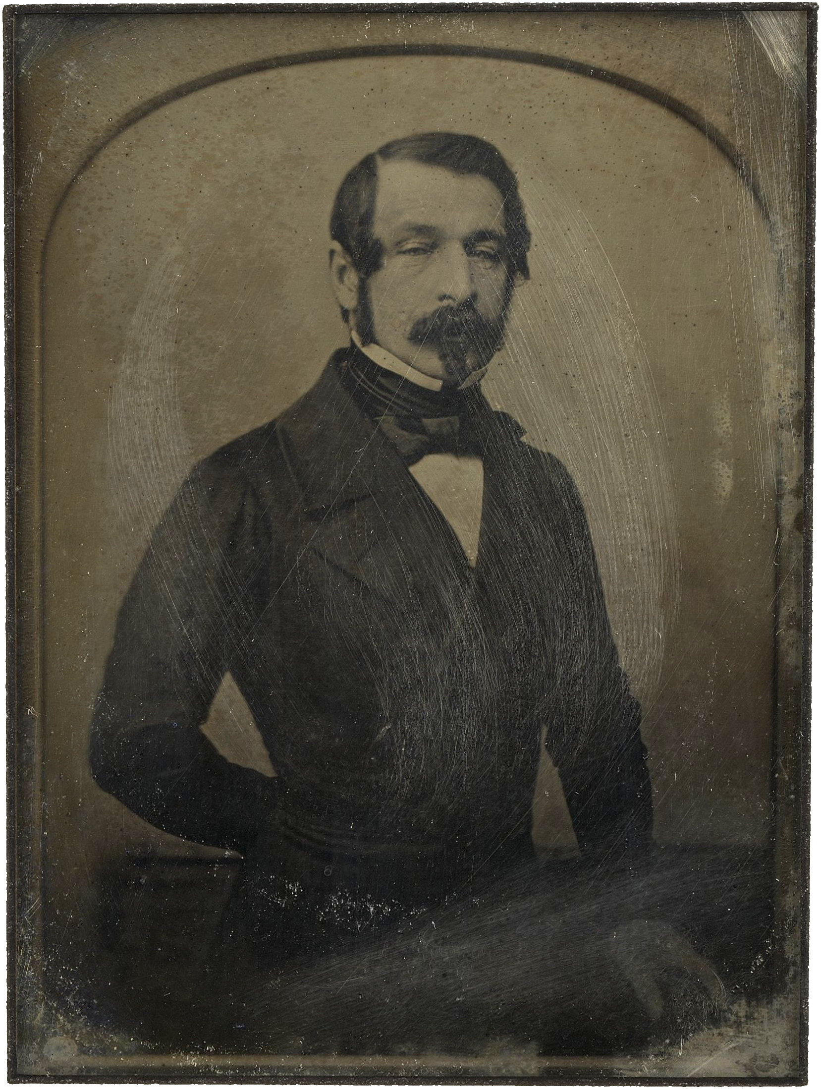 Kaiser Bonaparte Tapijt Daguerreotype Portrait Of Napoleon Iii Taken While He Was Serving
