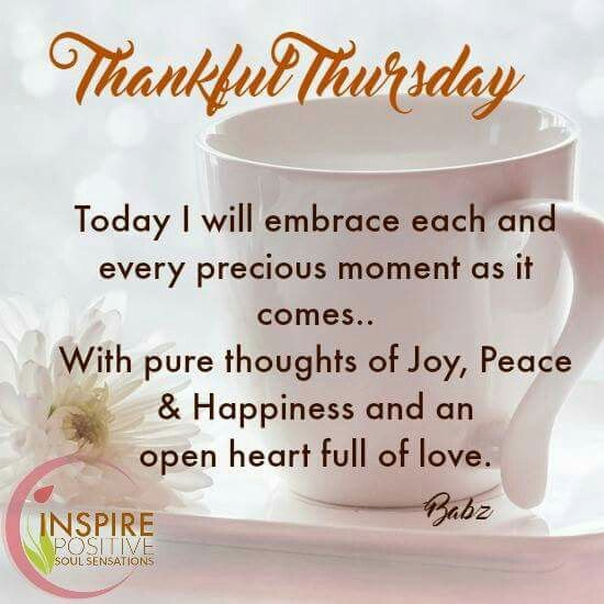 Thankful Thursday Quotes: January 10th Daily Bulletin
